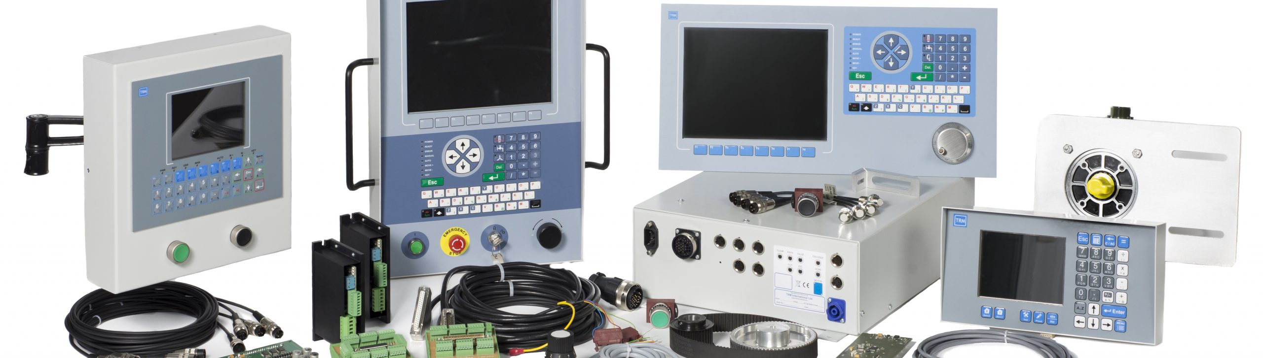 Group of CNC controllers and peripherals