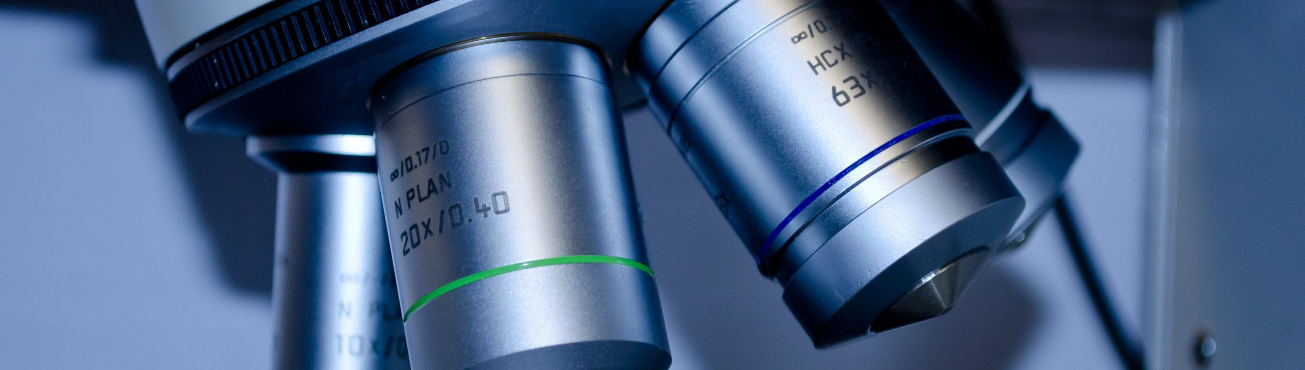 Close up of Medical Microscope