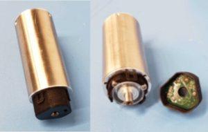 Rotary servo motor with encoder