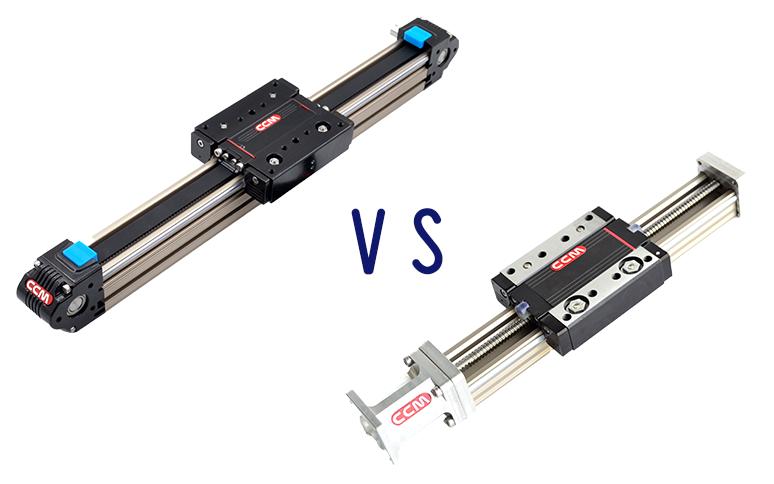 Belt Driven Linear Motion VS Ball Screw Linear Motion